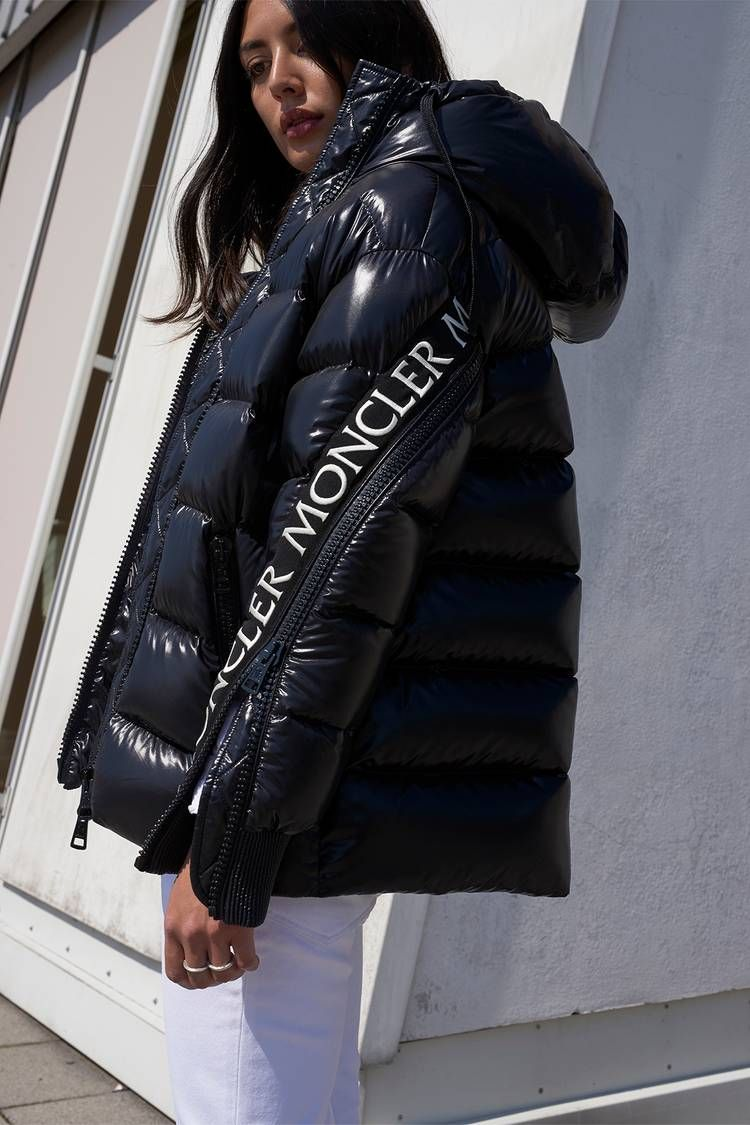 Stylebop Com X Moncler Drop The Oversized Puffer Jacket Of Our Dreams Moncler Jacket Women Oversized Puffer Jacket Fashion [ 1125 x 750 Pixel ]