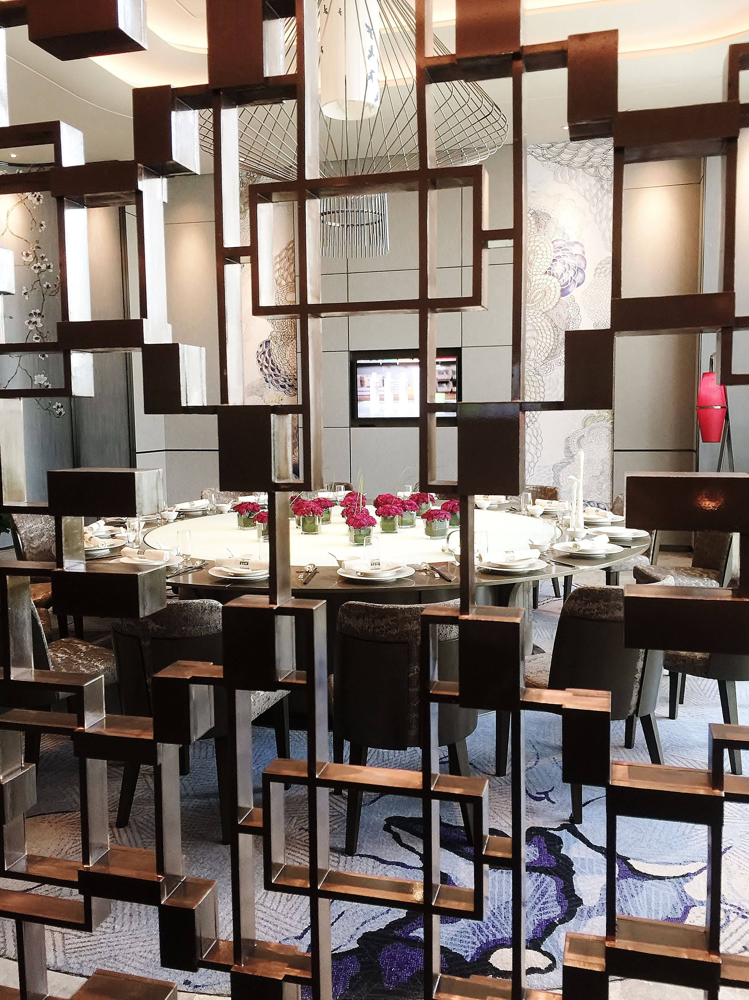 Chinese Restaurant Vip Private Dining Room