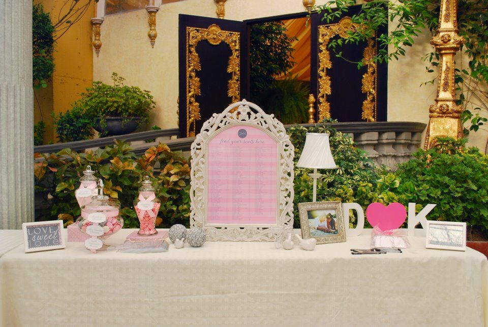 nice registration table all about wedding Pinterest Wedding