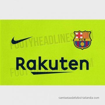 2ª Camiseta Barcelona 2018-2019  f71e8256a01