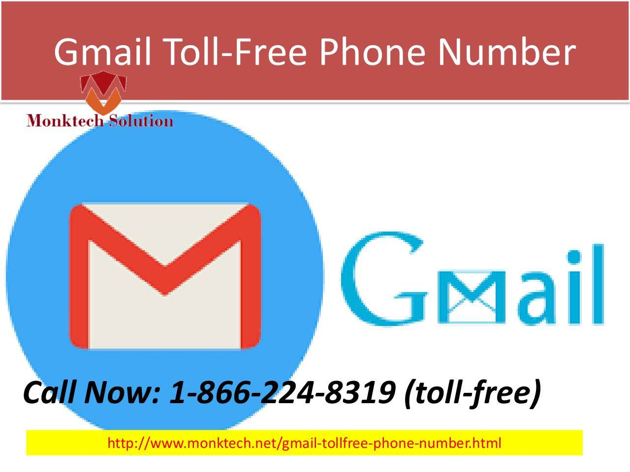 Call us on Gmail TollFree Number 18662248319 for Gmail