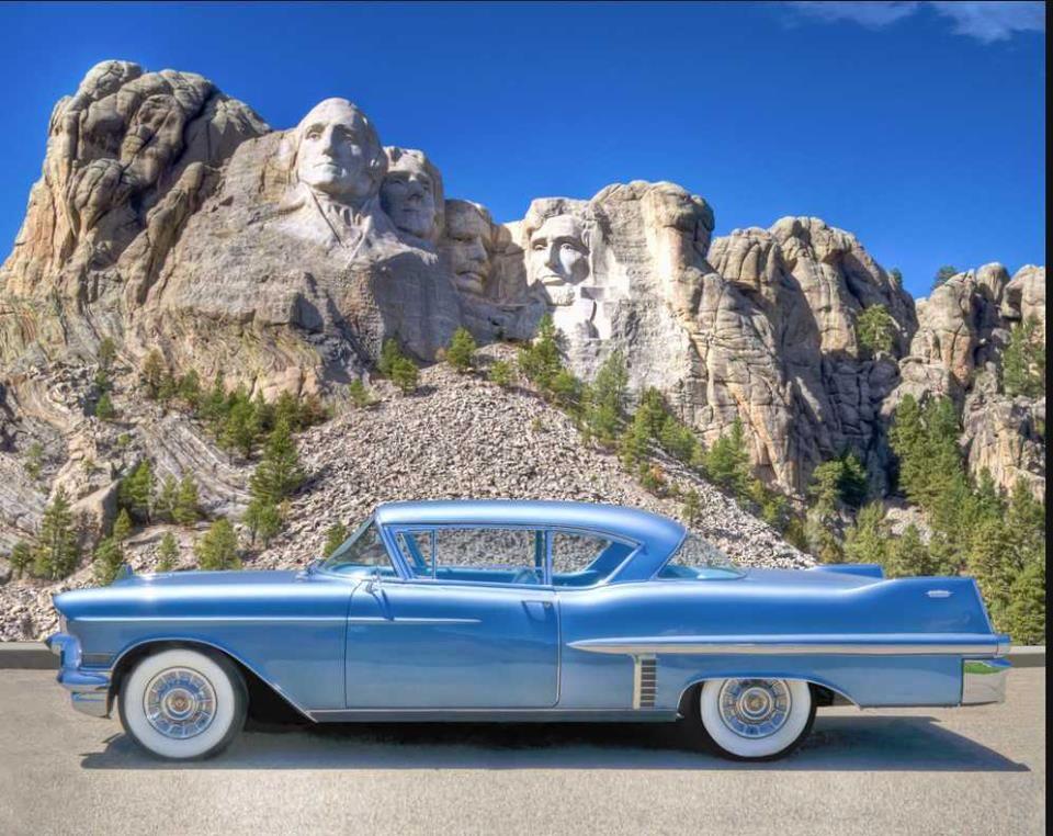 1957 Cadillac Series 62 Two Door Hardtop Windscreen Windblocker