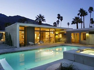 Palm Springs vacation house rental: Palm Springs Mid-Century ...