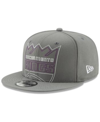 big sale e20bd cda08 New Era Sacramento Kings Light It Up 9FIFTY Snapback Cap - Gray Adjustable