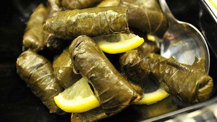 ورق العنب بالزيت Recipe Food Middle East Food Palestinian Food