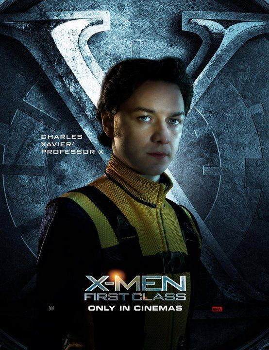 X Men First Class Charles Xavier Professor X X Men Charles Xavier James Mcavoy Young