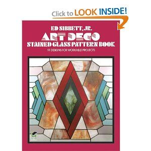 Art Deco Stained Glass Pattern Book (Dover Stained Glass Instruction): Ed Sibbett Jr.: 9780486235509: Amazon.com: Books