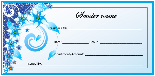 Create A Gift Certificate With These Free Microsoft Word Templates
