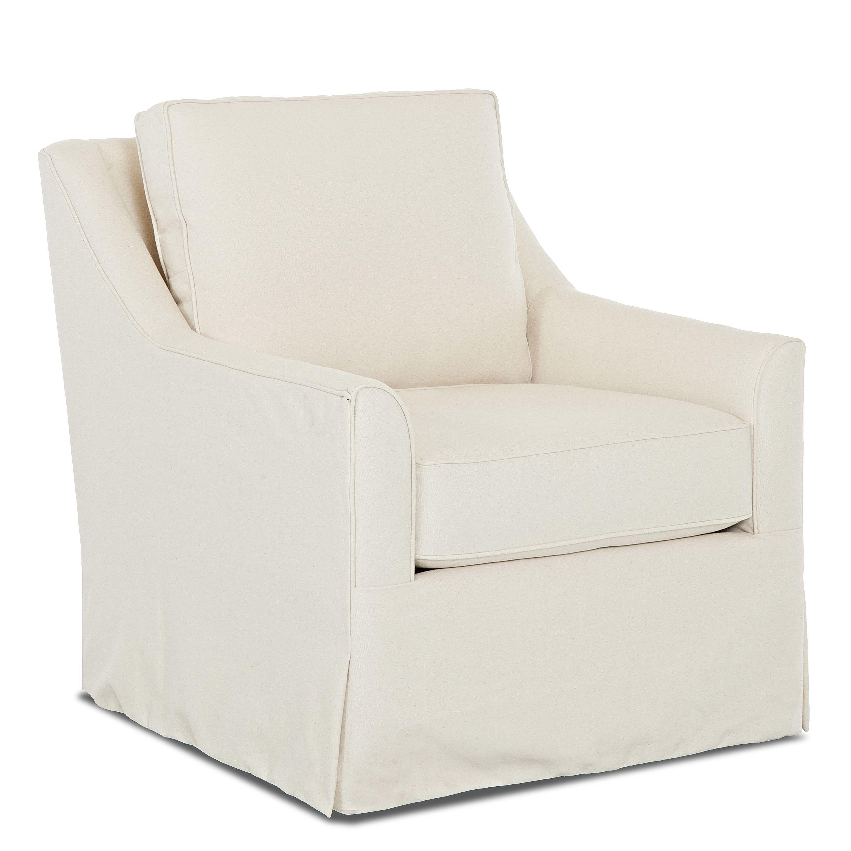 Wayfair Custom Upholstery Bella Swivel Glider  Swivel glider