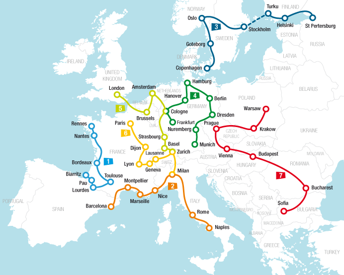 Travel ideas and itineraries   Rail Europe   Rail travel planner