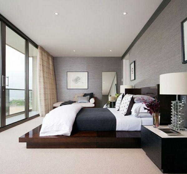 Schlafzimmergestaltung - Was ist denn eigentlich modern? -Schöne - schlafzimmer gestaltung ideen