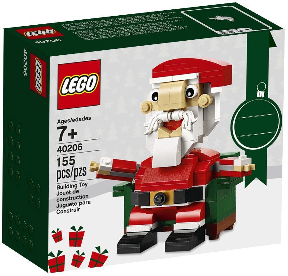 LEGO Holiday Santa 40206 Building Kit (155 Piece) Lego