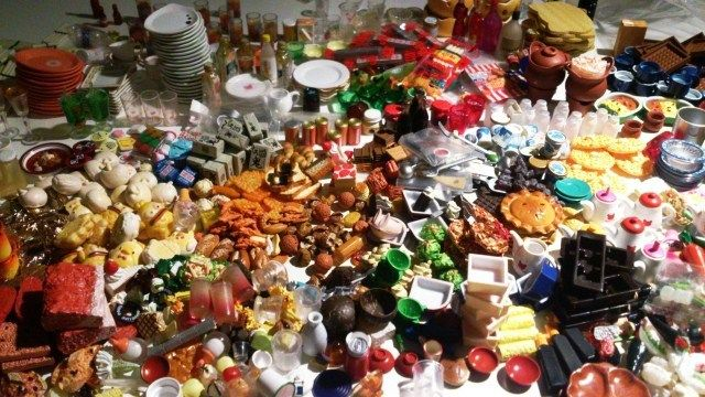 Updated Re Ment Cute Food Miniature Dollhouse Meal Drink Megahouse