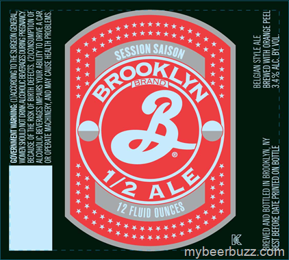 mybeerbuzz.com - Bringing Good Beers & Good People Together...: Brooklyn Half Ale - Designed For Sweden But Coming...
