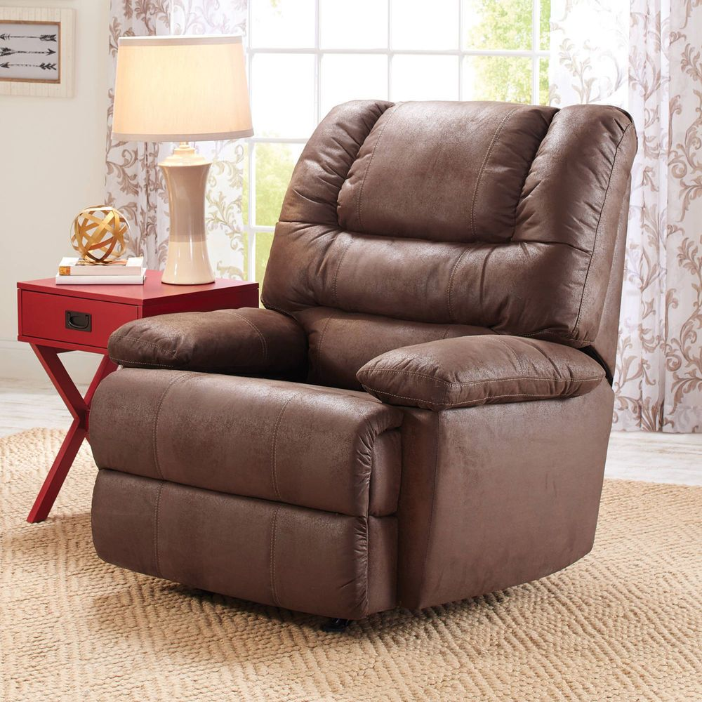Superb Large Recliner Deluxe Cushion Padded Chaise Arm Rest Leg Gmtry Best Dining Table And Chair Ideas Images Gmtryco