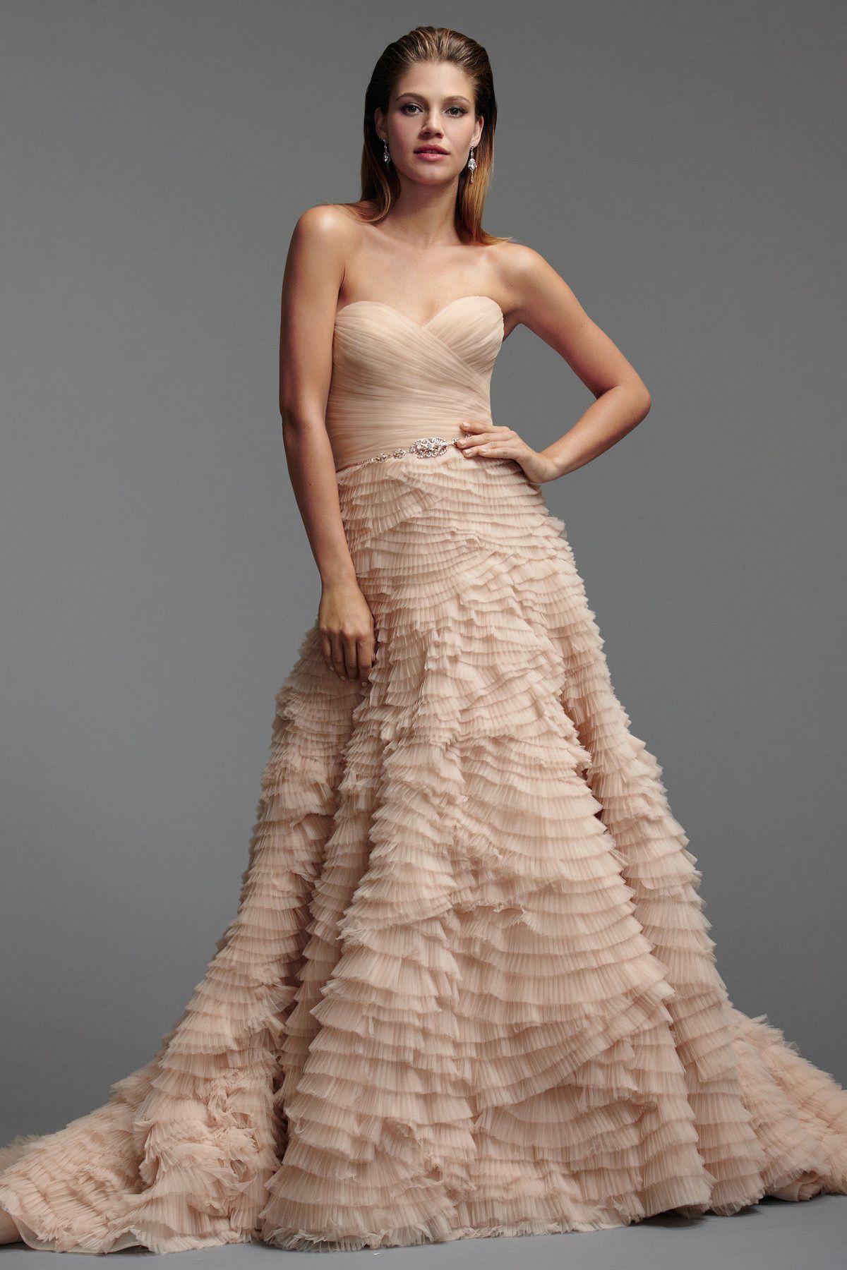 Watters Brides Davia Gown   Dresses   Pinterest   Wedding dress ...