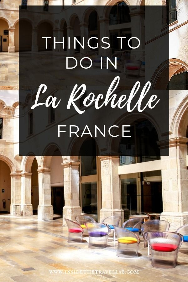 A guide to things to do in La Rochelle, France. Historic markets, stone arcades and modern art combine to make a great weekend break or day trip in France. #Travel #France via @insidetravellab