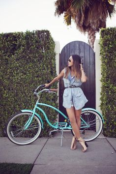 34 Fashion-Approved Ways to Look Stylish While Biking   StyleCaster