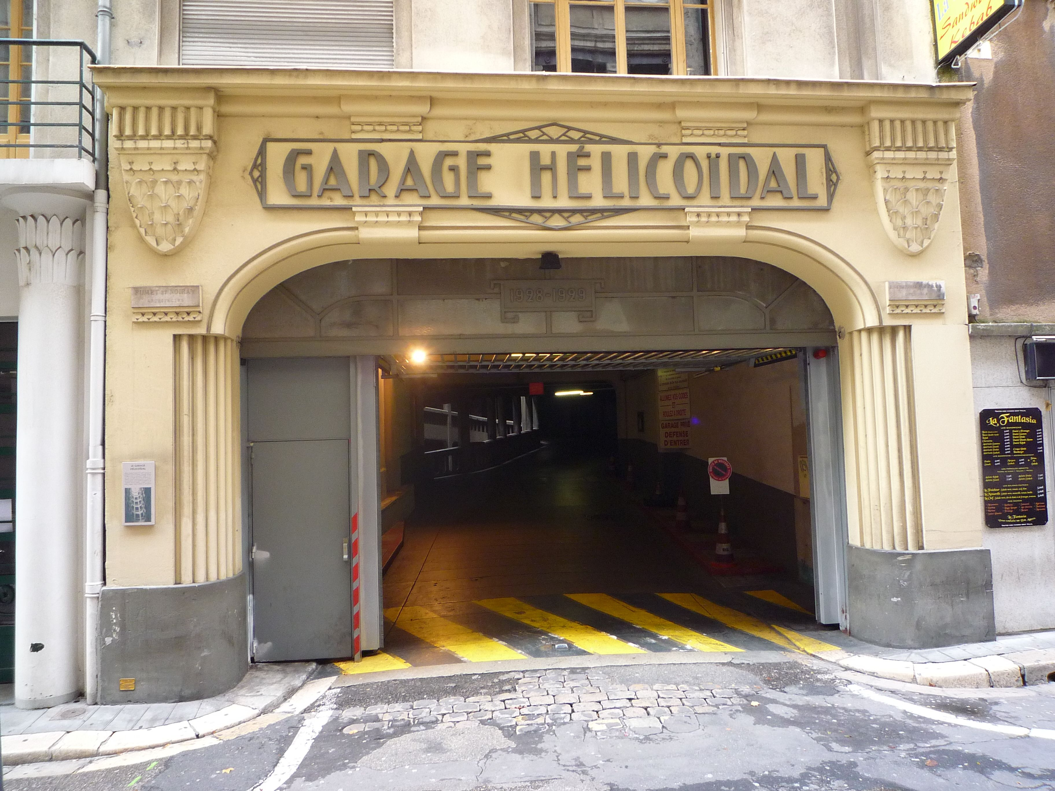 Art Deco Parking Lot In Grenoble France Built I The 20 S