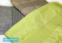 Бамбукова хавлиена кърпа, за ръце лице и тяло. Цвят: графитен, кафе, зелен, Хавлиени кърпи с релефни детайли.