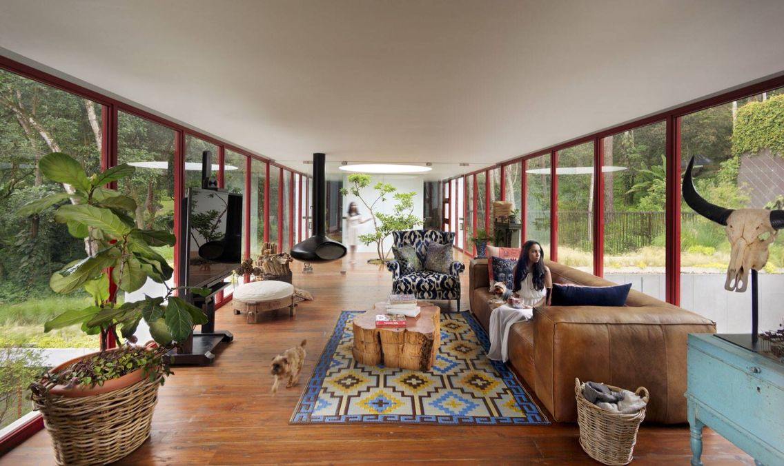 Living room, casa Chinkara, Cd. de Guatemala❤️
