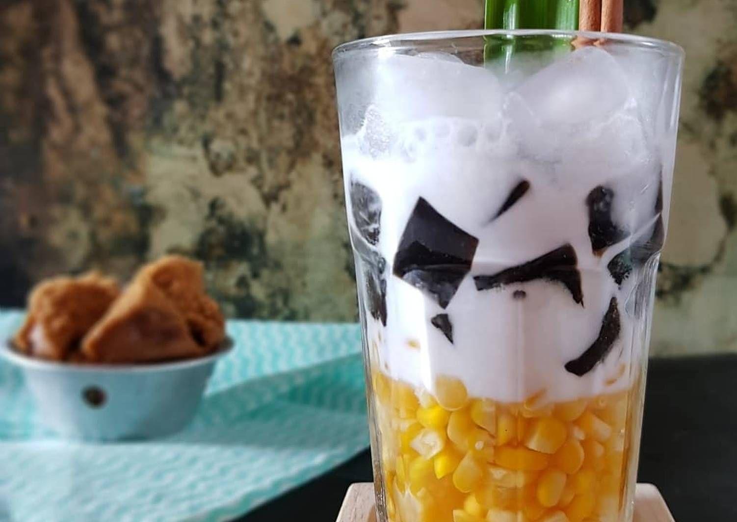 Resep Es Jagung Manis Cincau Oleh Nila Iswahyudi Resep Cincau Minuman Smoothies Resep Minuman