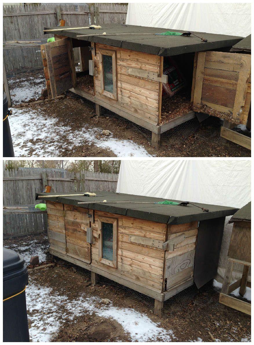 Pallet Chicken Coop   Chicken coop pallets, Wood pallet ...