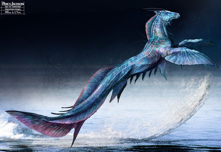 Hippocampus Percy Jackson Mythical Creatures