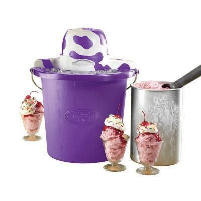 Nostalgia Electrics Ice Cream Maker....     $39.99