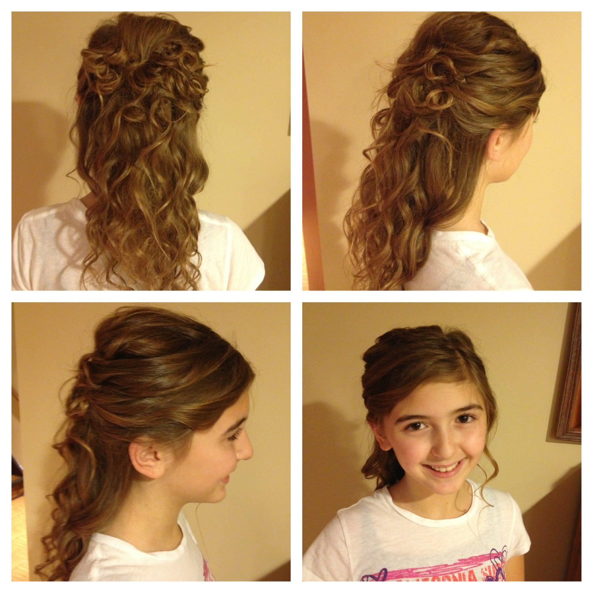 Cute halfup halfdown hairstyle hairstyles pinterest hair