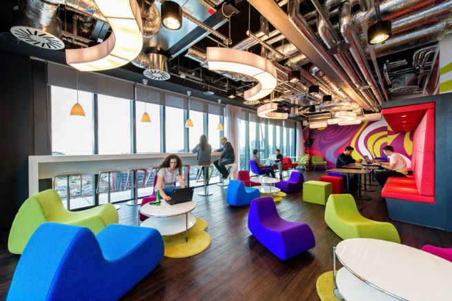 the google office. The \ The Google Office