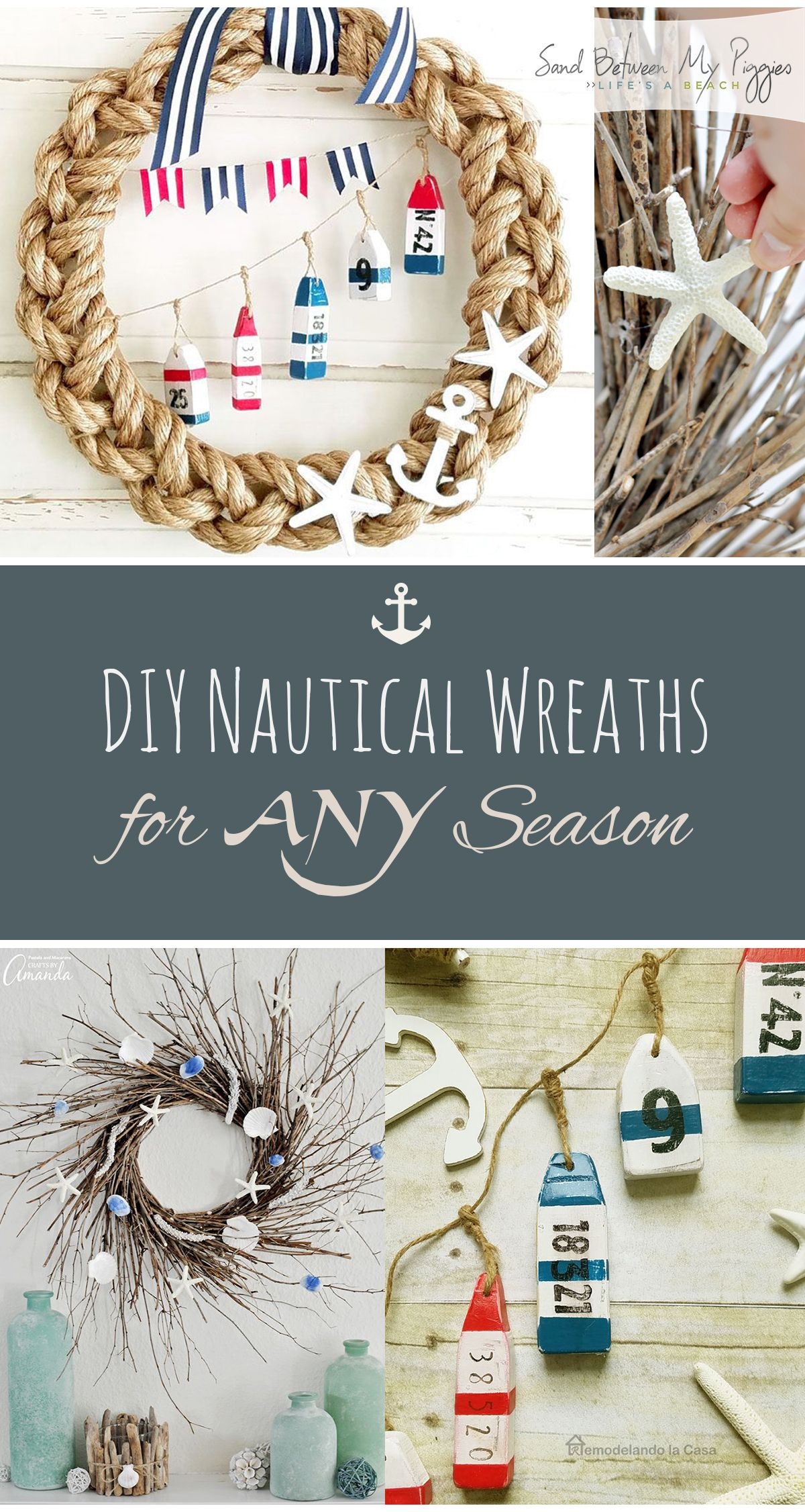 Diy Nautical Wreaths For Any Season Nautical Wreath Diy