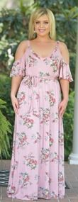 Romance Remembered Maxi - Pink