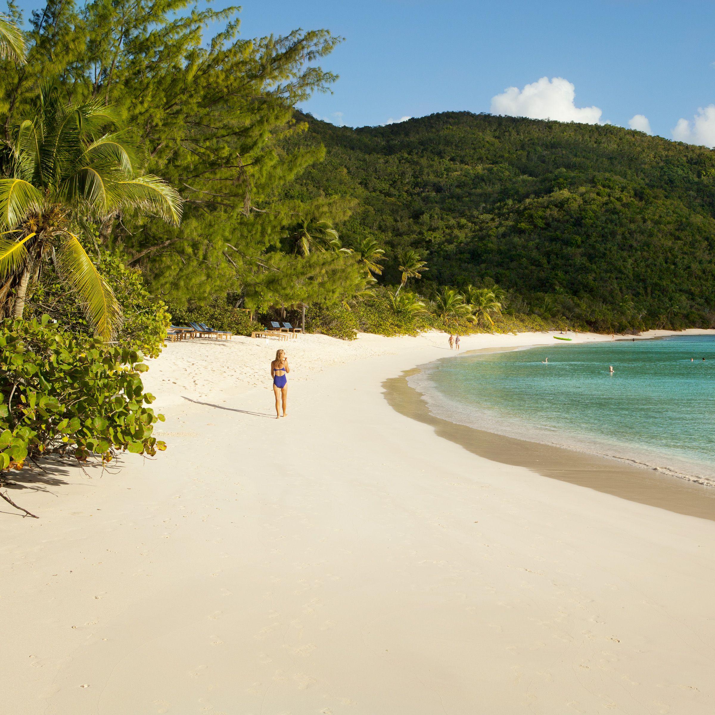 Private Island Beaches: Explore Guana Island: A Private Escape