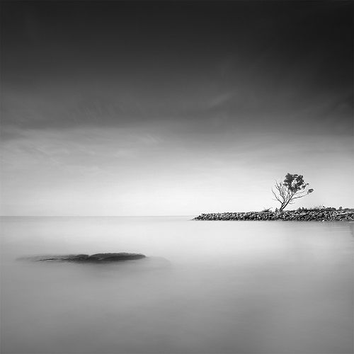 Minimalist Black And White Landscape Photography Inspiration From Will S