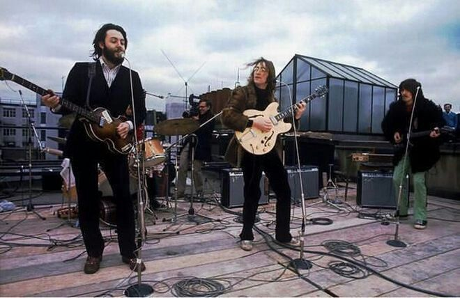 The Beatles in London 1969 ( the last live)