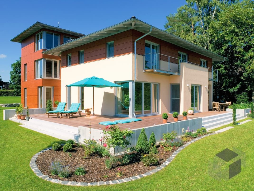Julia von regnauer hausbau wohnfläche gesamt 33238 m² zimmeranzahl 13 fertighaus mediterranes haus