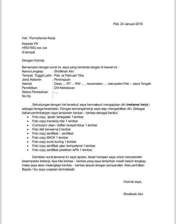Contoh Surat Pengumuman Pembayaran