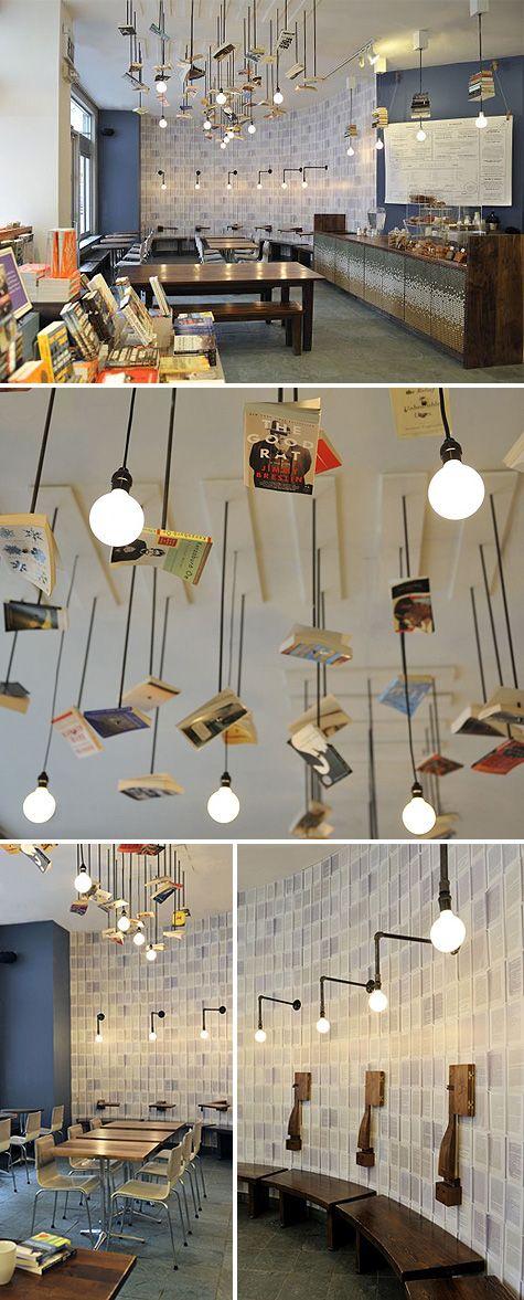 Bookstore Cafe hangoutspot Pinterest Librerías, Café y Restaurante - libreria diseo