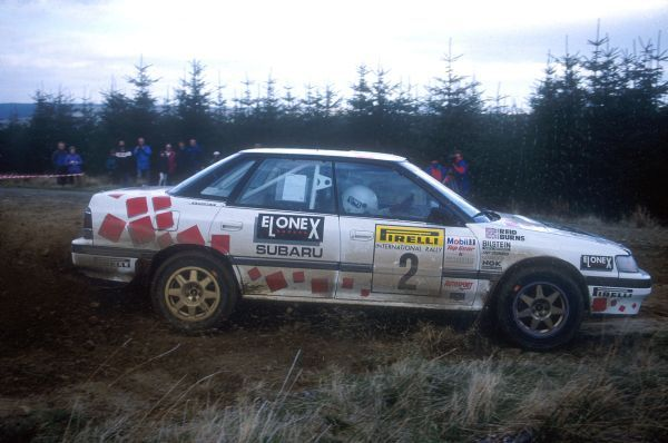 Ewr Slotted Rip Richard Burns Sadly Missed Rally Subaru Motorsport
