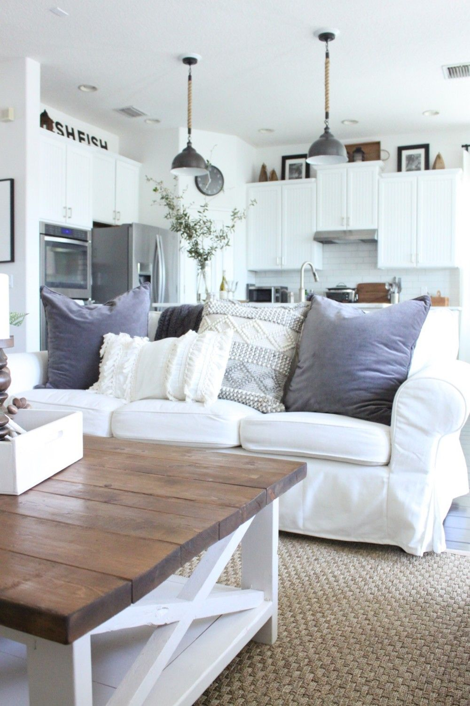"""Beachy Boho"" Style for the Family Room | Ikea living room ..."