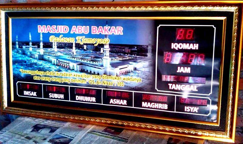 Pin Di Jam Digital Masjid Batam 0812 2890 1300