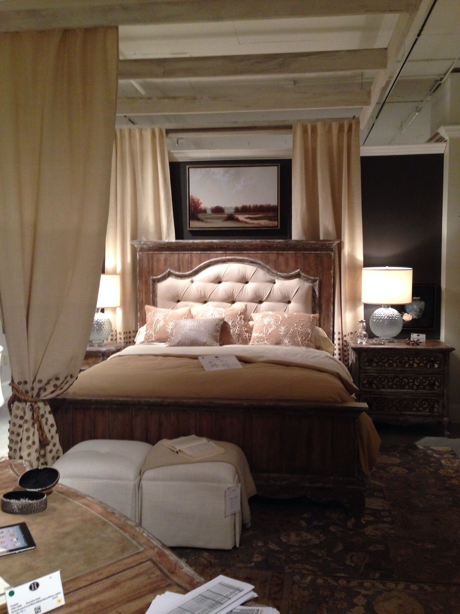 The new mantle bed from the Chatelet collection by Hooker Furniture ...