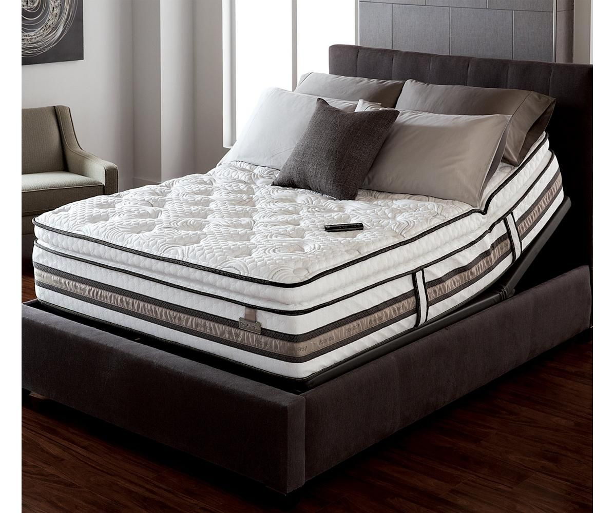The Serta Iseries Super Pillowtip Mattress Featured On The