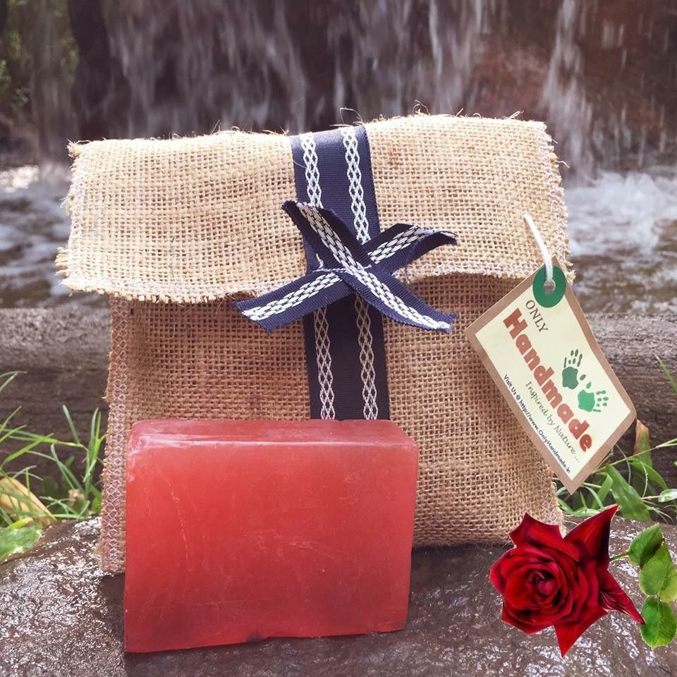 Beauty lies in the Rose!!! Get Rosy skin this Diwali with our Handmade Soap