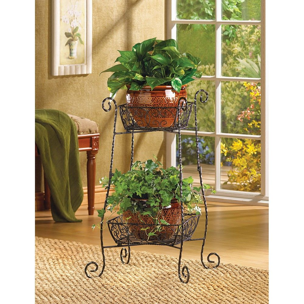 Wholesale Wire Basket Plant Stand Plant Stand Plants Iron Plant Stand