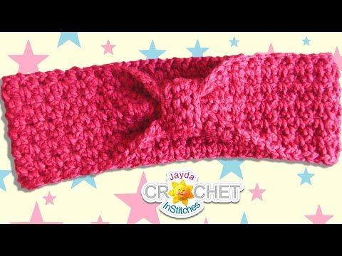 Classic Headband Ear Warmers Crochet Pattern Easy Diy Youtube