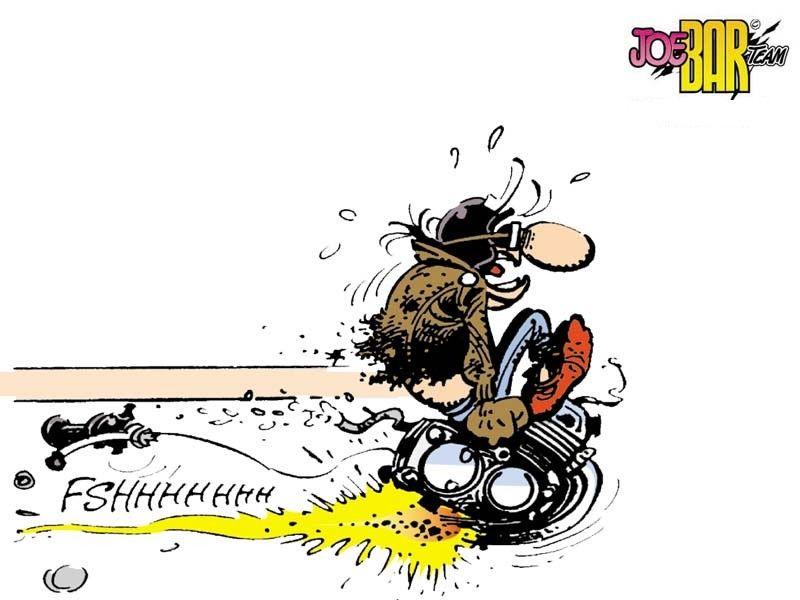 Joe Bar Team | Dessin moto, Humour motard, Humour moto