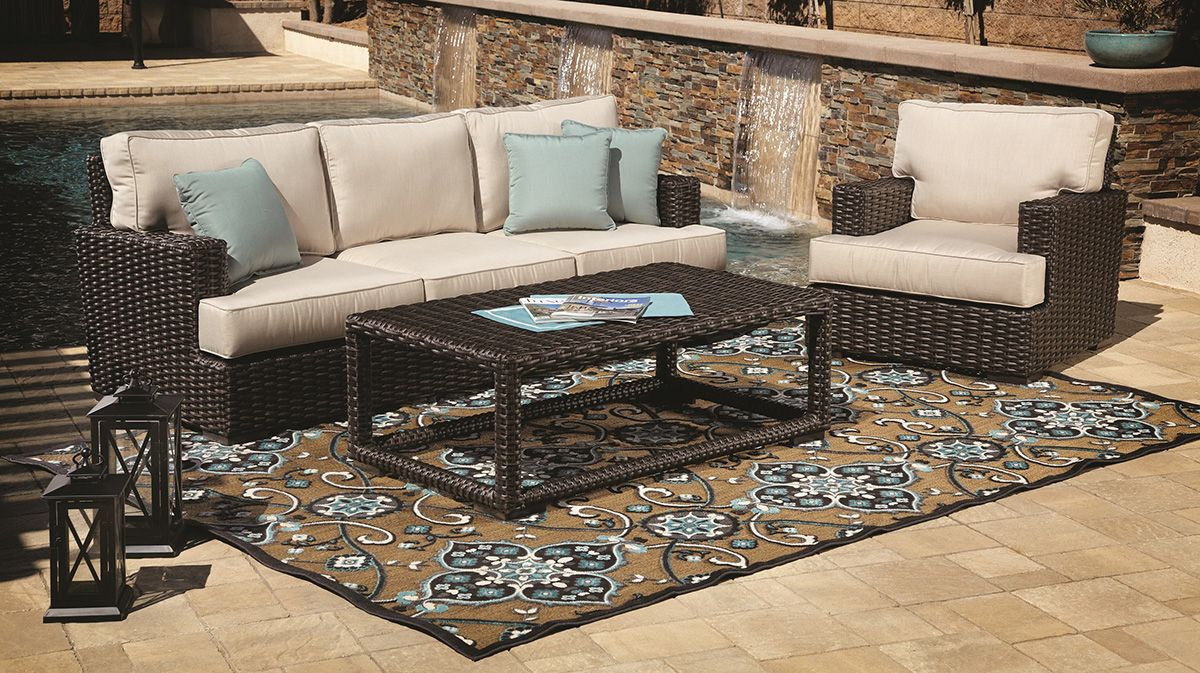 Furniture line the acapulco chair and chat set patio productions - Featured Brand Sunset West