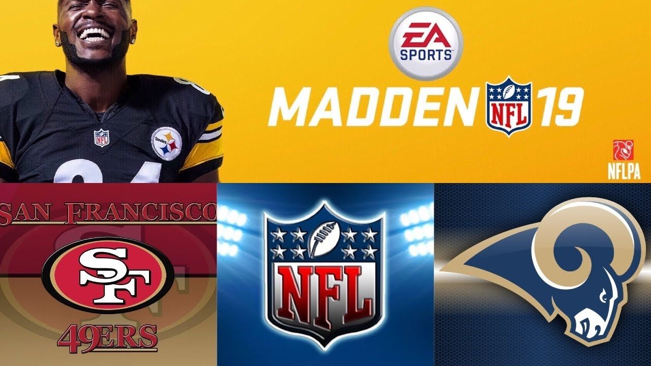 Madden Nfl 19 Full All Madden Gameplay San Francisco 49ers Vs Los Angeles Rams Youtube San Francisco 49ers Madden Nfl Nfl